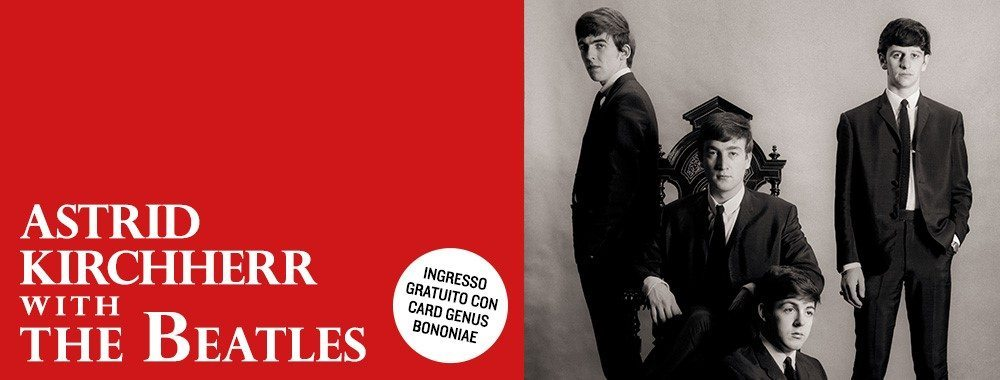 Astrid Kirchherr With The Beatles Genus Bononiae Musei
