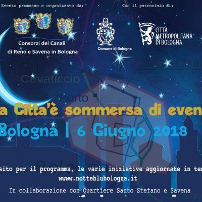 Un tuffo nell'arte e nella storia di Bologna - Notte Blu 2018