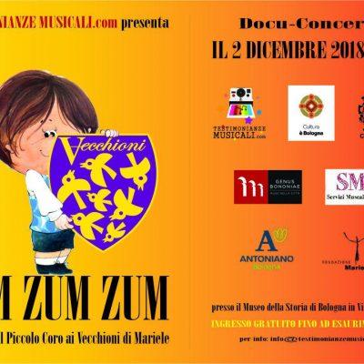 ZUM ZUM ZUM - Zumando dal Piccolo Coro ai Vecchioni di Mariele