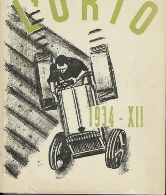 """""""L'Orto""""- Journal of Literature and Art. A cultural adventure through Bologna in the 1930s"""