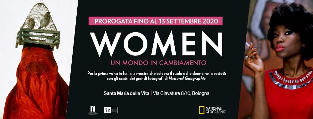 """Prorogata fino al 13 settembre 2020 """"Women. Un mondo in cambiamento"""""""
