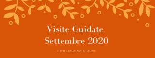 Visite guidate Settembre 2020