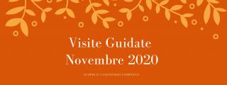 Visite guidate Novembre 2020